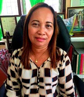 Carles public school supervisor Lynie B. Chavez