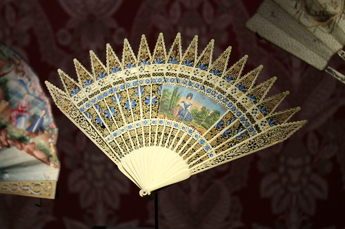 fancy folding fan