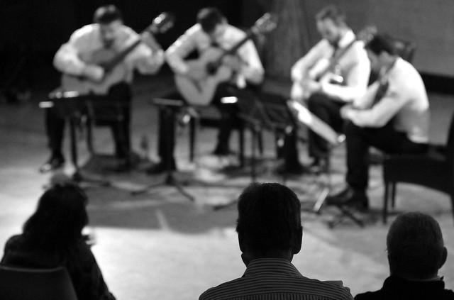 CUARTETO DE GUITARRAS TERPSÍCORE - 28 FESTIVAL DE MÚSICA ESPAÑOLA - 19.09.15