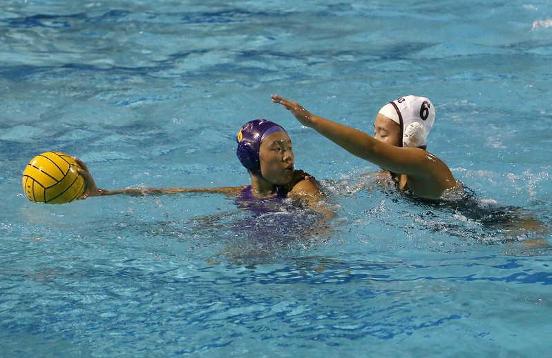 Girls Water Polo vs Cupertino 10/22