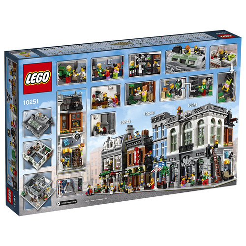 Lego Modular Bank Laundromat for January 2016 Release Set 10251 ...