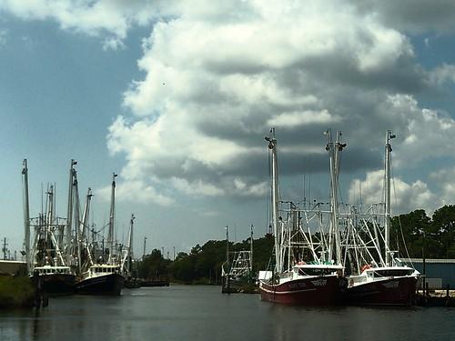 Shrimp boats on Bayou le Batre