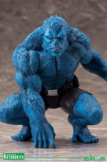 壽屋 ARTFX+ 系列【野獸】MARVEL NOW! Beast 1/10 比例 全身雕像