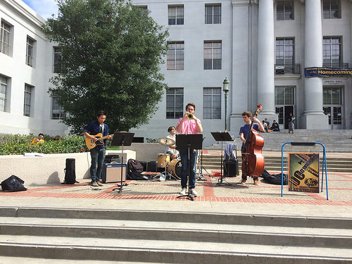 Jazz at Sproul UC Berkeley