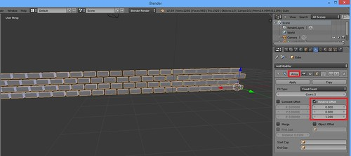 3D Printing - Occoquan Mill House Museum -Screenshot - Brickwork 3