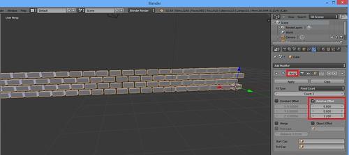3D Printing - Occoquan Mill House Museum -Screenshot - Brickwork 3