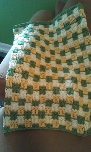 Basketweave Baby Blanket