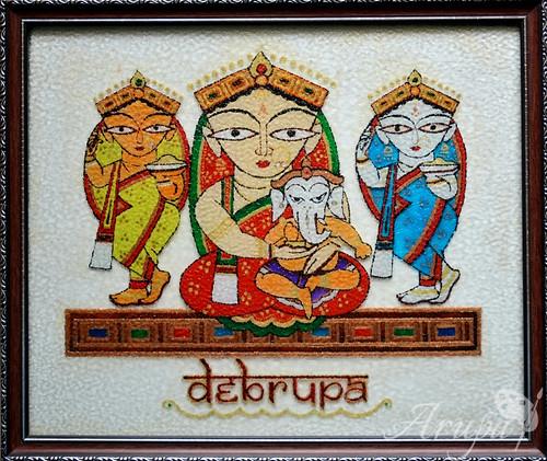 Parvati & Ganesha