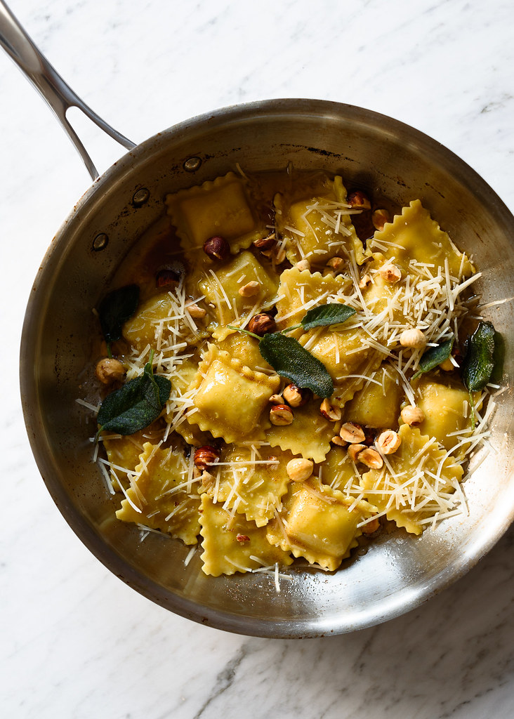 Kabocha Browned Butter Pasta Recipes — Dishmaps