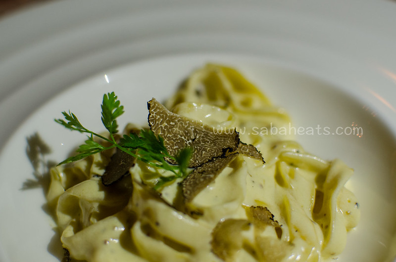 Fresh truffle at Ferdinand's Magellan