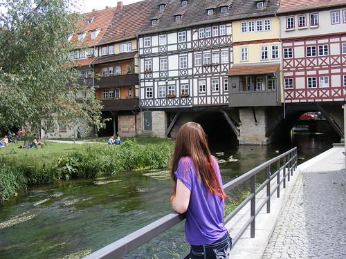 Relaxing on the Krämerbrücke