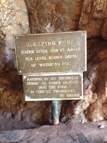 Sleeping Pool Cave.