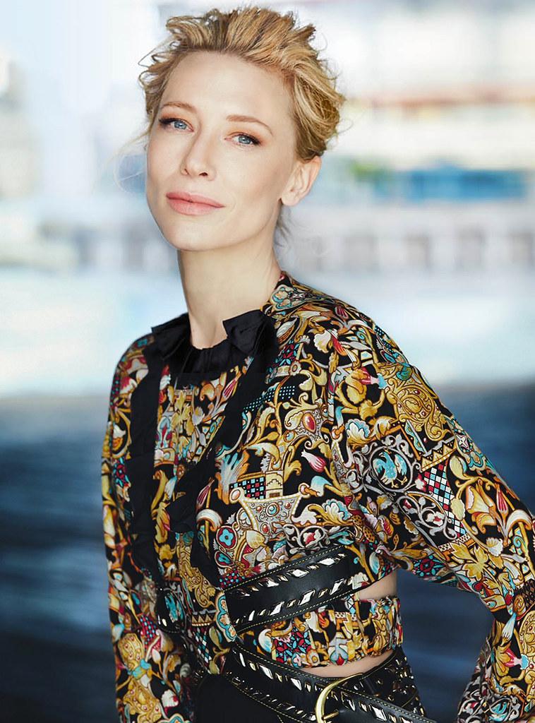 Кейт Бланшетт — Фотосессия для «Vogue» AU 2015 – 10