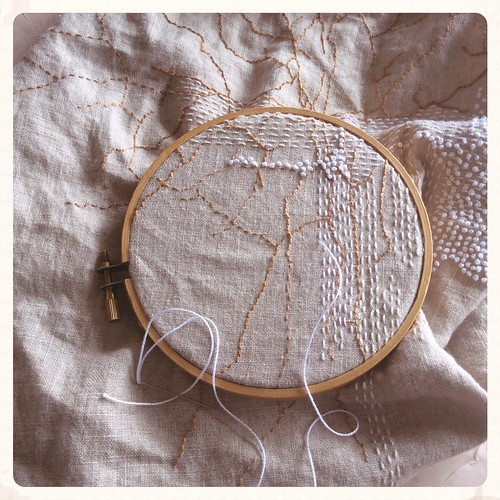 Abstract stitching