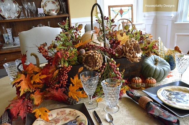 Fall Tablescape - Housepitality Designs