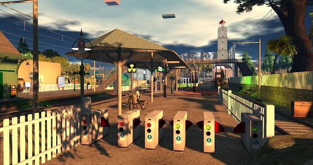 Virtual railway station