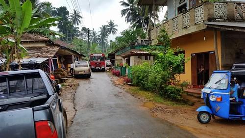 bus public transport sri lanka jungle rainforrest sinharaja