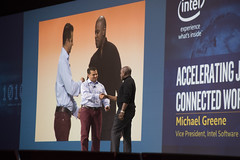 Georges Saab and Michael Greene, Intel Keynote, JavaOne 2015 San Francisco