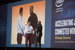 Georges Saab and Michael Greene, Intel Keynote, JavaOne 2015 San Francisco
