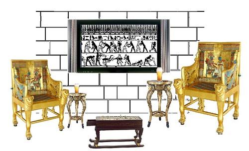 King Tut's Man Cave (artist concept)