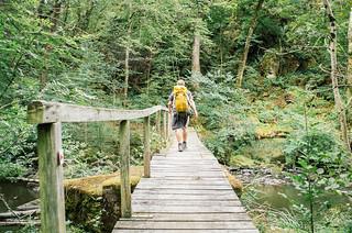 Randonnée sur la grande traversée du Morvan - carte de France touristique