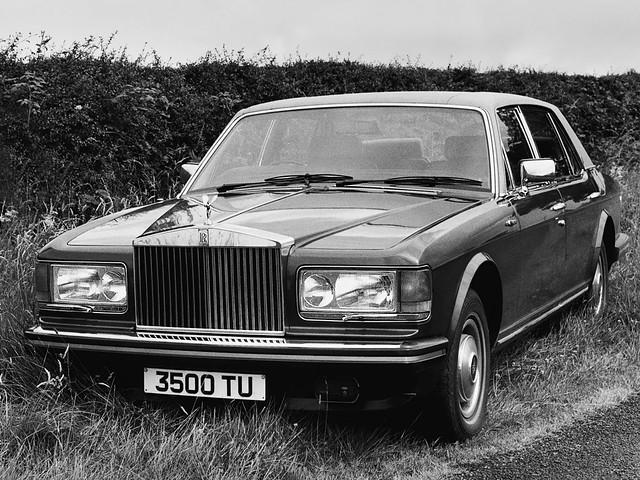 Rolls-Royce Silver Spirit. 1980 – 1989 годы. Техническая база для первого Bentley Mulsanne