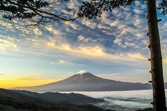 November Morning Fuji