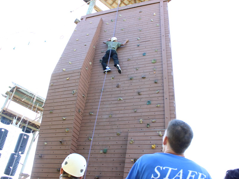 Inspirations for Youth and Families tackles Tiger Tail Course thumbnail