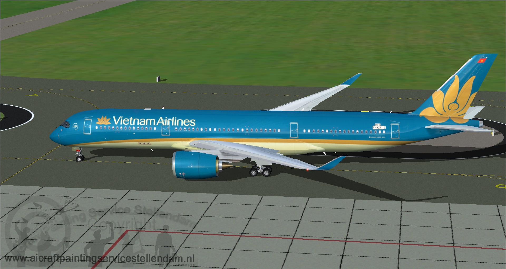 FSP_AirbusA350-941XWB_VietnamAirlines_VN-A889_F-WZFL_FS9