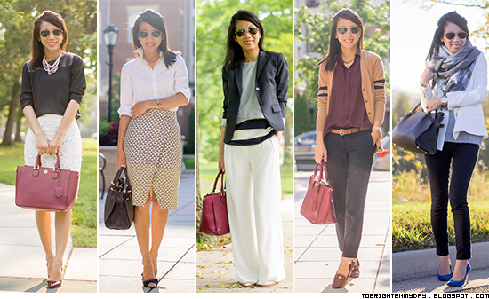 2015 favorite work outfits