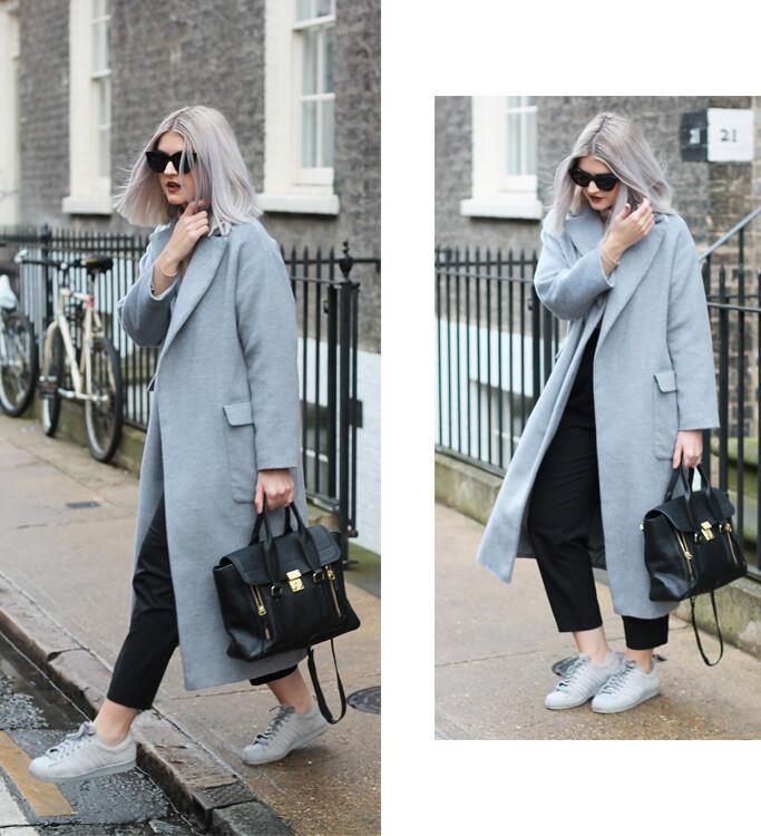 topshop grey jacket