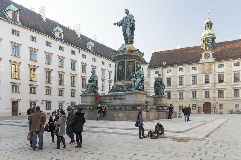 Amalienburg in Vienna, Austria