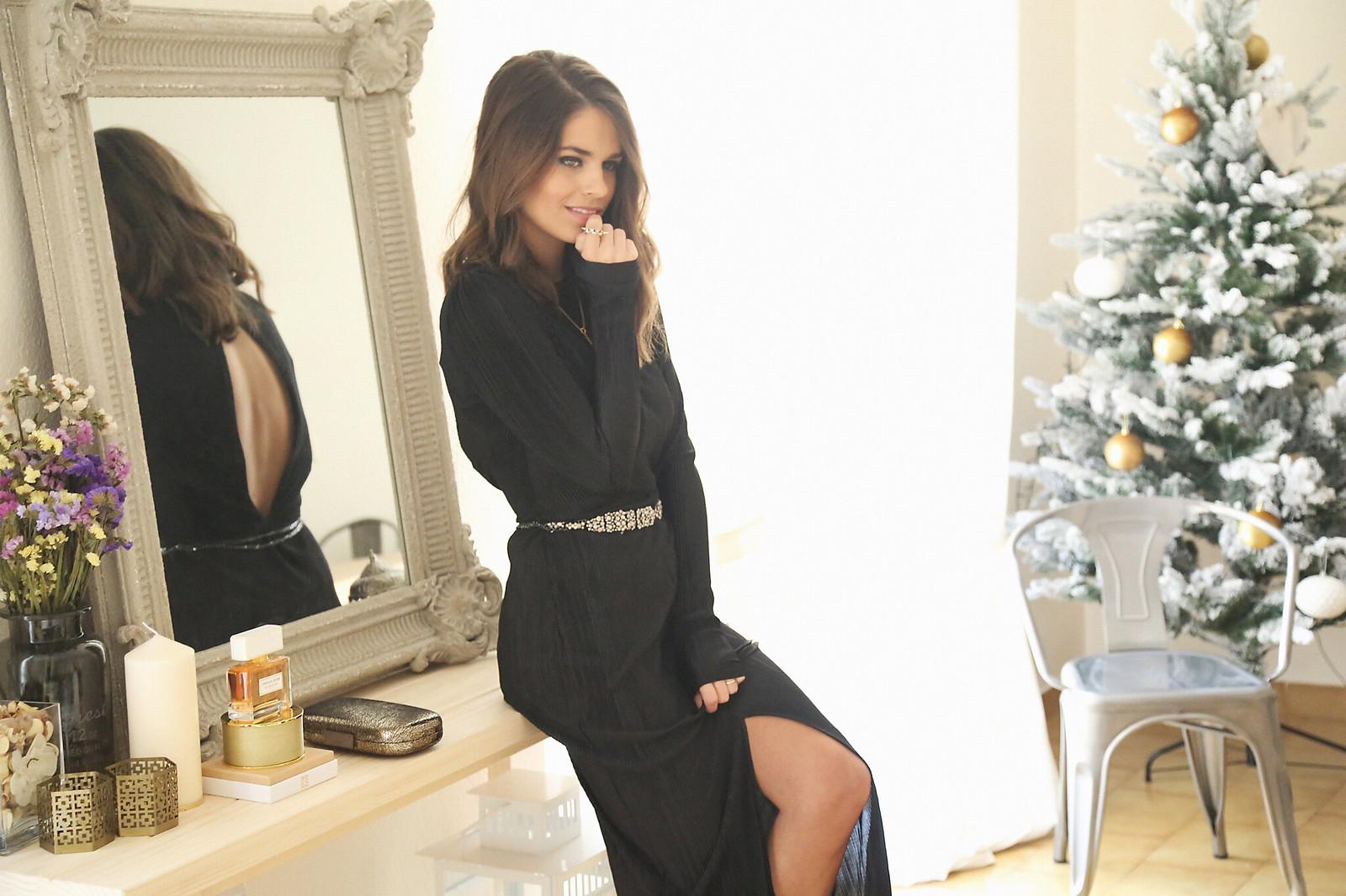 majorica joyas black long dress - jessie chanes 3