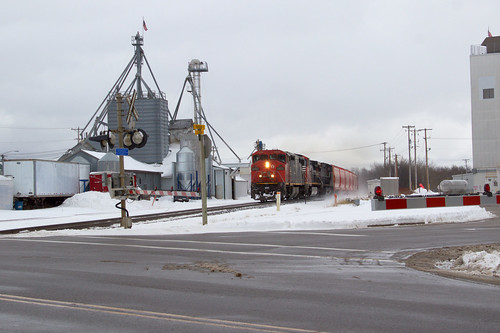 Northbound at Spencer