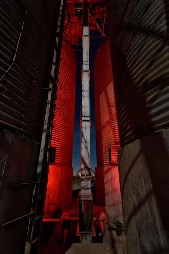 silos. calipatria, ca. 2016.
