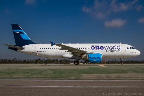 XA-VIP - Airbus A320-214 - Mexicana
