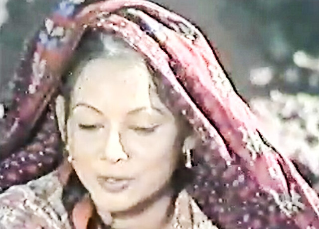 A highly rustic role for Roohi Bano