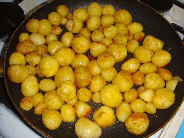 Молодая картошечка