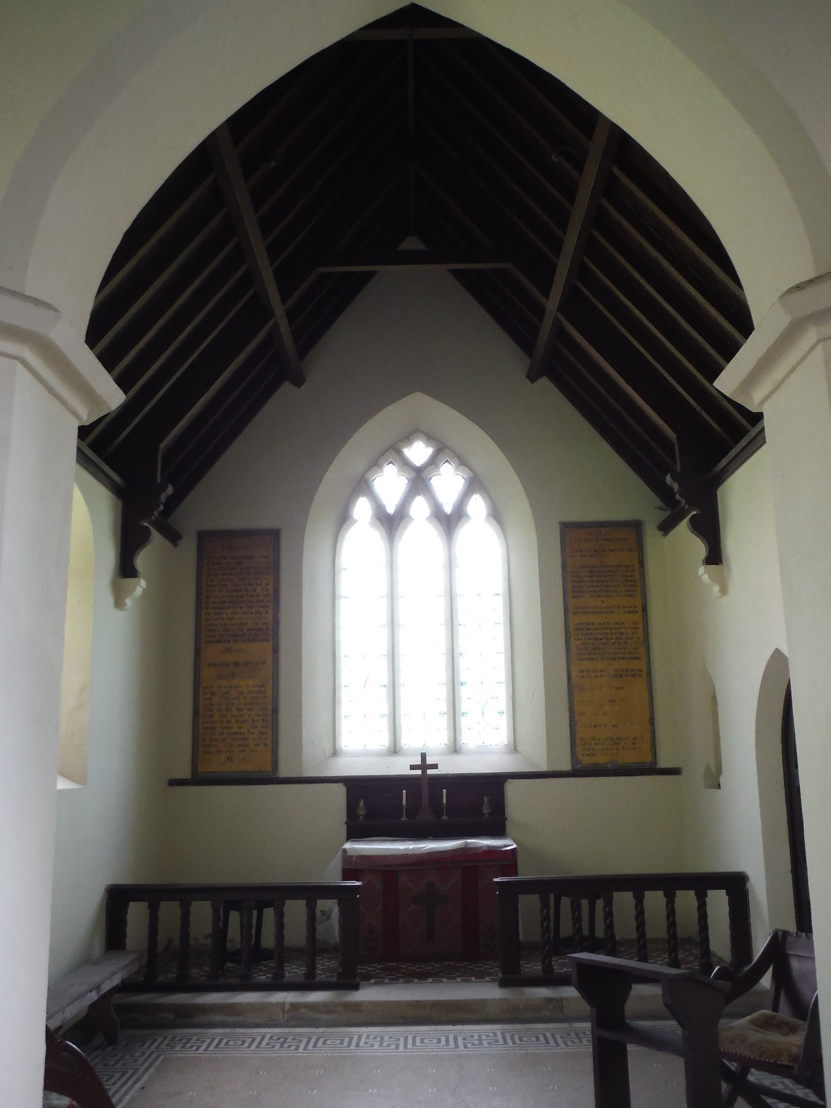St. Leonards, Berwick St. Leonards (Interior II) SWC Walk 248 Tisbury Circular via Hindon