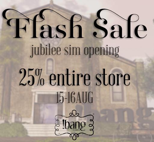 !bang poses - flash sale