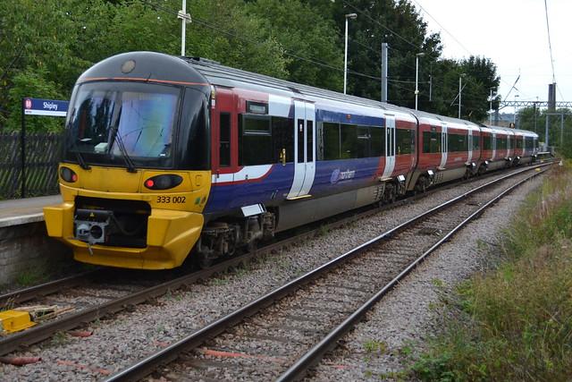 Northern Rail Class 333 333002 - Shipley