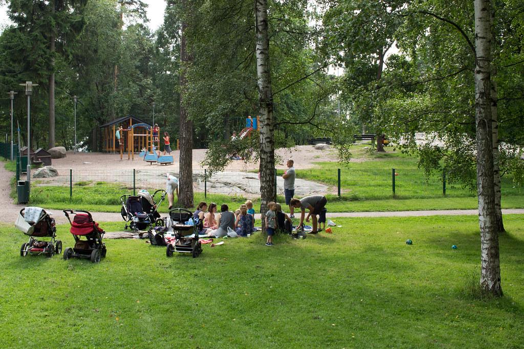 Sibelius-puisto, Helsinki, Suomi