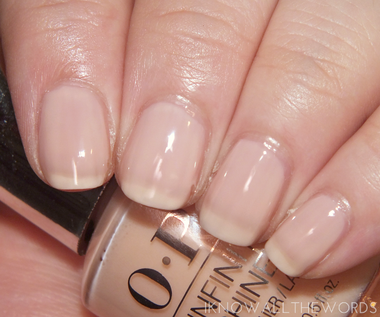 OPI Infinite Shine Soft Shades 2015 The Beige of Reason