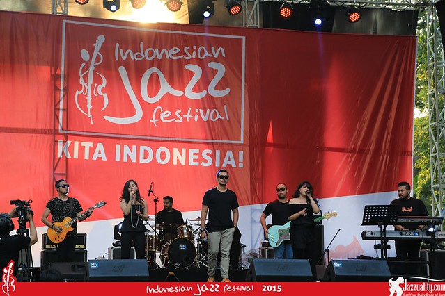 Indonesian Jazz Festival 2015 - The Nelwans(1)