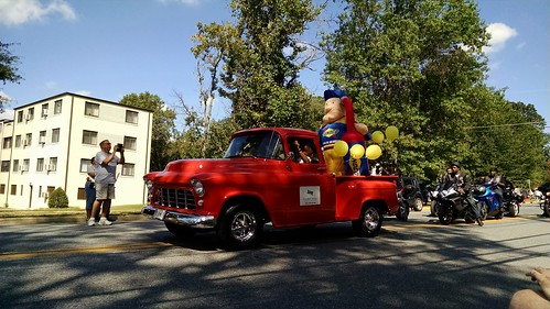 At the Greenbelt Labor Day Parade, September 7, 2015