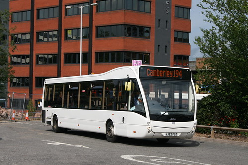 Courtney Buses YJ62 FLD on Route 194, Bracknell