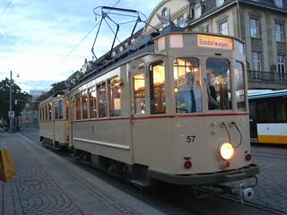 Vintage Tram, Darmstadt.
