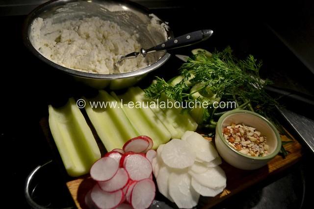 Concombre au Chèvre Frais & aux Herbes © Ana Luthi Tous droits réservés 0021