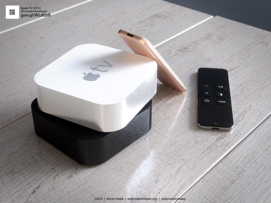 Apple TV '15 in white!