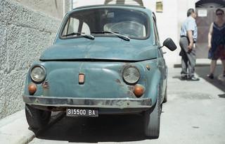 Fiat 500 - analog